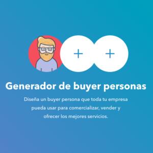 Generador de buyer personas (HubSpot)