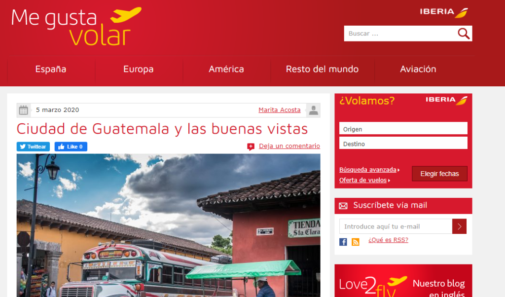 iberia inbound marketing blog