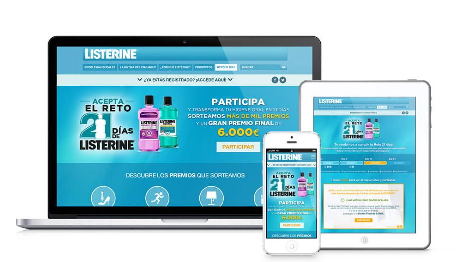 Listerine inbound marketing captación leads